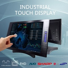 Industrial monitor 22'' lcd open frame touchscreen monitor