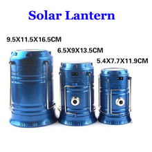 2017 Rechargeable Camping Lantern Emergency Solar Lantern
