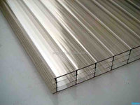 polycarbonate four-wall sheet for roofing