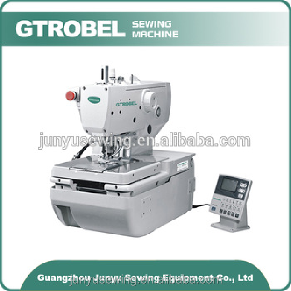 Newly updated GDB-9820 Gtrobel brand industrial Eyelet Buttonhole Electronic sewing machine with bottom price