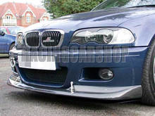 Real Carbon Fiber ACS AC Style Front Lip Spoiler FOR BMW E46 M3 2001-2006 B014