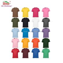 Mens blank plain heavy 100 cotton t shirts