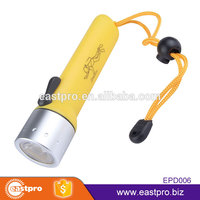 Great value 3 Modes AA battery operated powerful XPE LED waterproof emergency flashlight waterproof