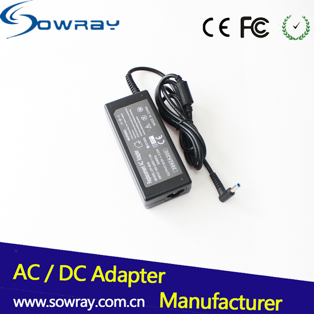 Hot selling blue tip AC Adapter for HP 19.5V 3.33A cargadores para laptop for ProBook 640 G1 notebook power supply adapter
