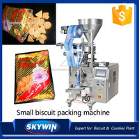 Skywin Low Cost Sugar Sachet Biscuit Packing Machine Price