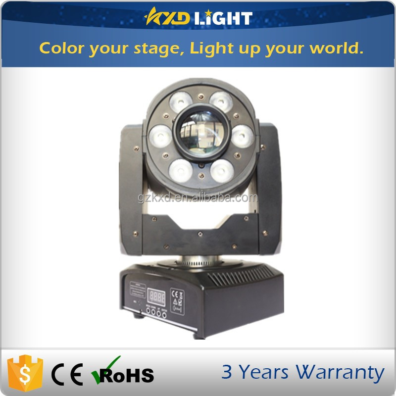 NEW KXD Moving Head Light 2in1 Spot Wash Light LED Moving Head for Disco Party