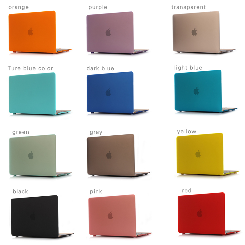 2015 New Multicolor Laptop Hard Shell Cover Case for macbook 12 inch case