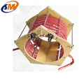 Feild joint coating induction heating machine and clamp induction coil