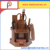 Multipurpose office wooden pencil pen holder school supply