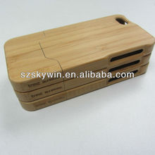wholesale factory new bamboo mobile phone cover 2014