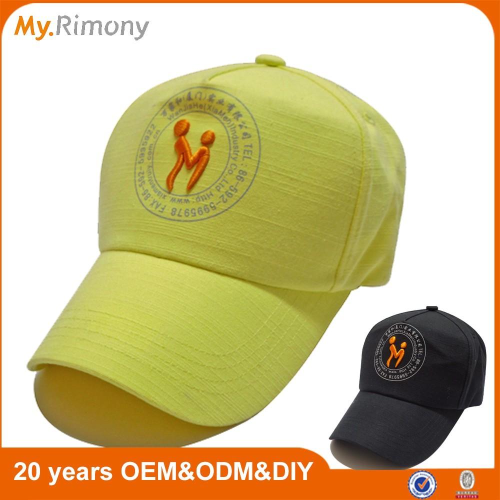 myrimony brand promotion baseball hat customize your logo