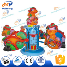 cheap amusement ride playground children games rotating dinosaurs