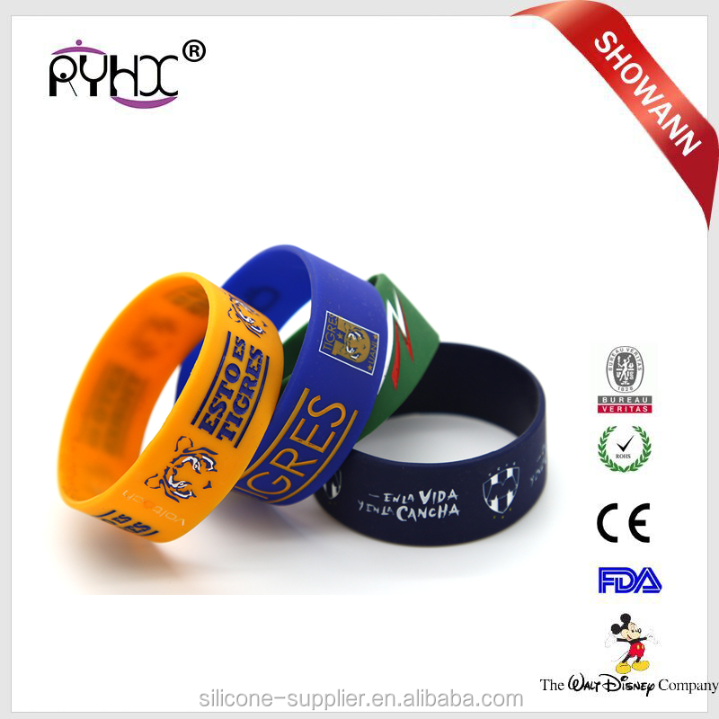 high quality latex free silicone rubber bracelet china factory hot sales bracelet made in china