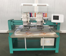 902 two head computerized cap embroidery machine for sale with single sequin device