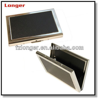 2016 bulk business card holders office leather pu name for Bulk business card holders