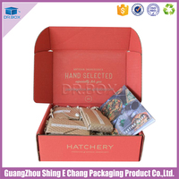 Free Sample Packagings Carton Subscription Gift