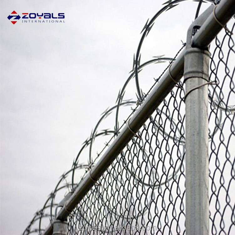 Stainless Steel Concertina Razor Barbed Wire For Prison Fence