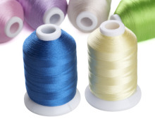 wholesales Simthread <strong>120</strong> colors 100% polyester embroidery thread for most embroidery machines in 1000m/cone