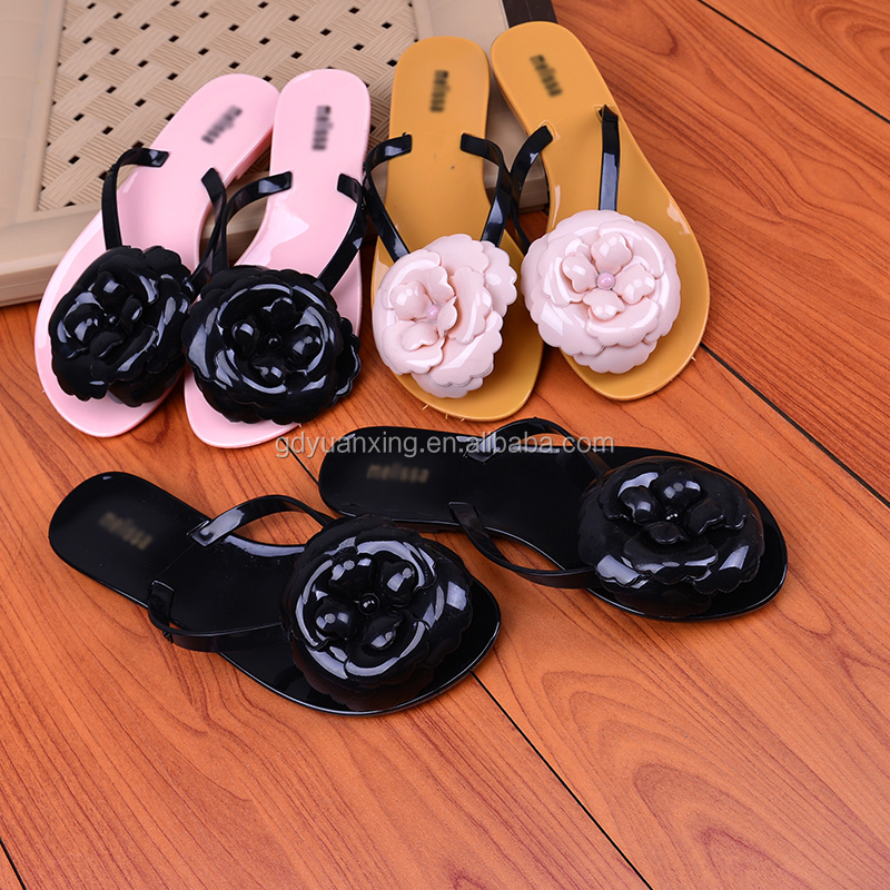 PVC Flip Flop Slipper Brand Ladies Shoes Fashion Flip Flop