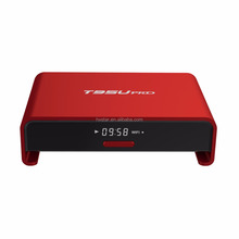 T95U pro Mini TV Box Amlogic S912 Android 6.0 Octa Core 2GB/16GB 3D 4K HD Dual WiFi BT 4.0 Google Smart TV Box