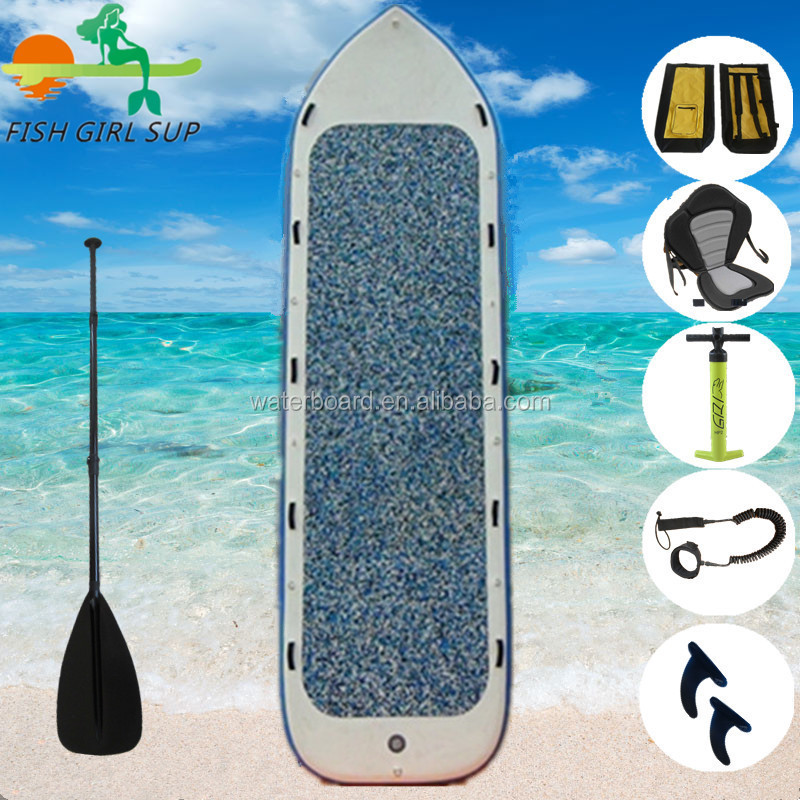 Latest technology with US fin box sup boards inflatable for team