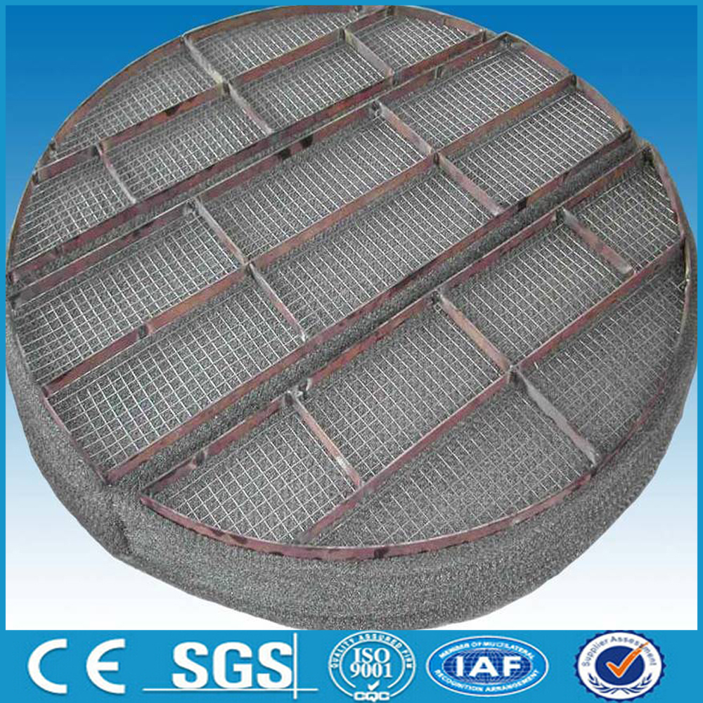 hot dipped galvanized knitting wire mesh demister pads