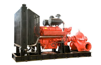 Diesel oil Fire Fighting Pump capacity 100L/S,105kw,