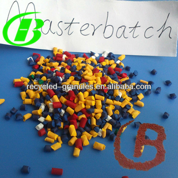 high quality color masterbatch in pipe grade