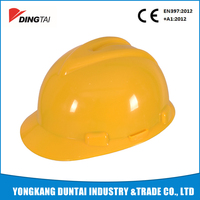 T001 HDPE durable cheap custom safety helmet ce