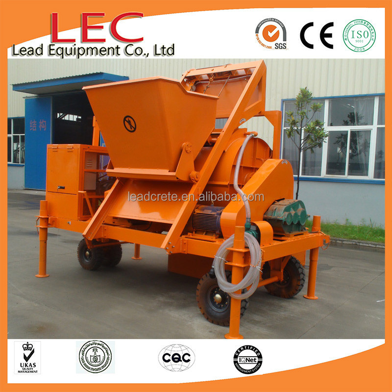 LD raw material foam lightweight concrete manual method and interlock block making machine