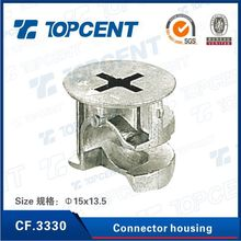Zinc alloy minifix eccentric cam fittings with furniture cams