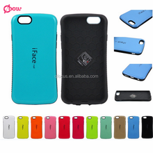 PC TPU Hybrid Mobile Phone Hard Case for iphone 5 6 6 plus case, iface mall cover for iphone 5 6 6 plus case