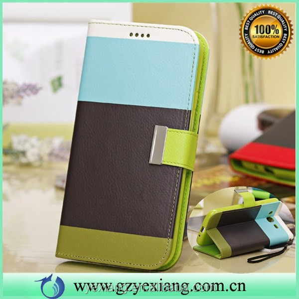 Wholesale Custom Case Cover For Samsung Galaxy Mega 5.8 Leather Pouch