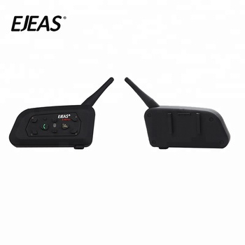 1200M Full Deplux Bluetooth Motorcycle BT Interphone Motor Riding Intercom Talking