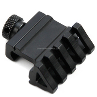 45 Degree Offset Side Rail Mount Quick Release for Picatinny Weaver Rail