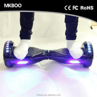 China Smart Balance 2 Wheel Hoverboard 2016 good price 700W motor with led scooter