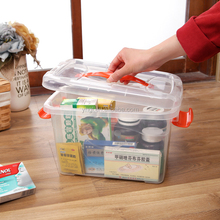 5L durable custom made plastic fish container Plastic Storage Containers
