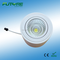 9w dimmable COB saa led downlight with driver