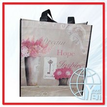 Dream Hope Inspire Non Woven Burlap Gift Bags