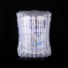 Protective air column bags for milk powder bottle packaging