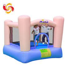 Wholesale cheap china toys plastic PVC kids small home inflatable jumping bouncer