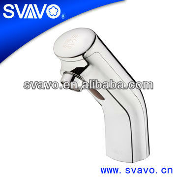 Auto Sanitaryware sensor faucet Automatic hand touch free cold water mixer tap for toilet V-AF5012