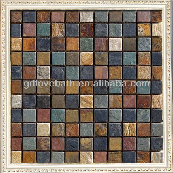 House Firstly Choose stone rustic mosaic style selections tile