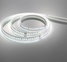 High lumen led strip light AC220V SMD5050 waterproof 14.4W white copper PCB 10MM