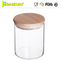Onsite Checked Supplier Custom Lid Glass Salt And Pepper Jar