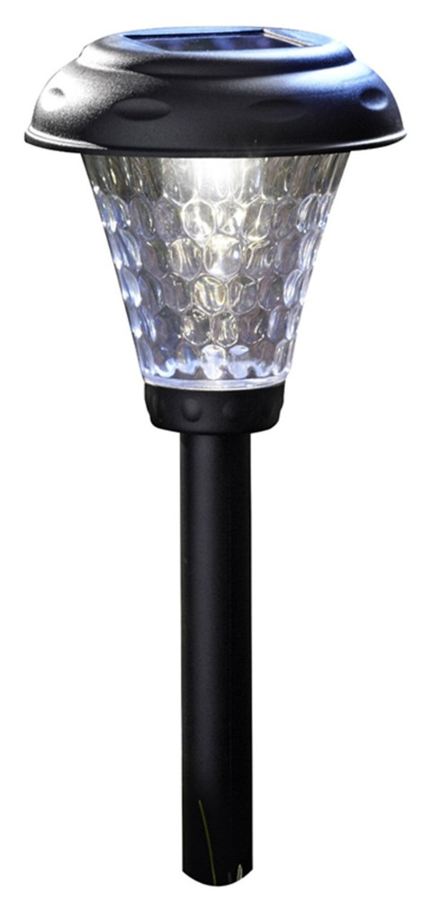 LED Solar Plastic Path Light Outdoor Garden