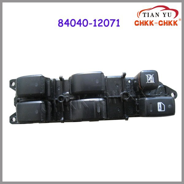 Good quality power window lifter switch 84040-12071 for TOYOTA COROLLA