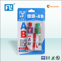 Fast dry Adhesives AB acrylic for ceramic connector telecommunication AB acrylic adhesive