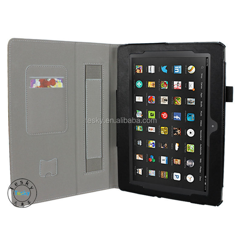 For Kindle Fire HDX Case, Leather Flip Cover For Amazon Kindle Fire HDX 8.9 Tablet Case, High Quality
