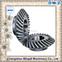 motorcycle wheels steel material bevel gear Helical Gear Wheel /Bevel Spiral Transmission Gear Parts